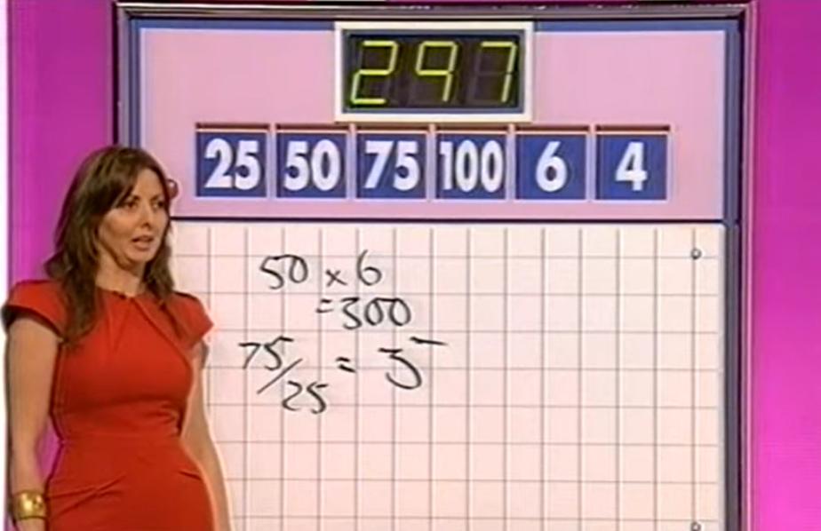 Carol Vorderman Countdown (Credit: Youtube)
