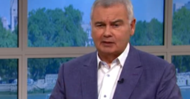 Eamonn Holmes This morning ITV