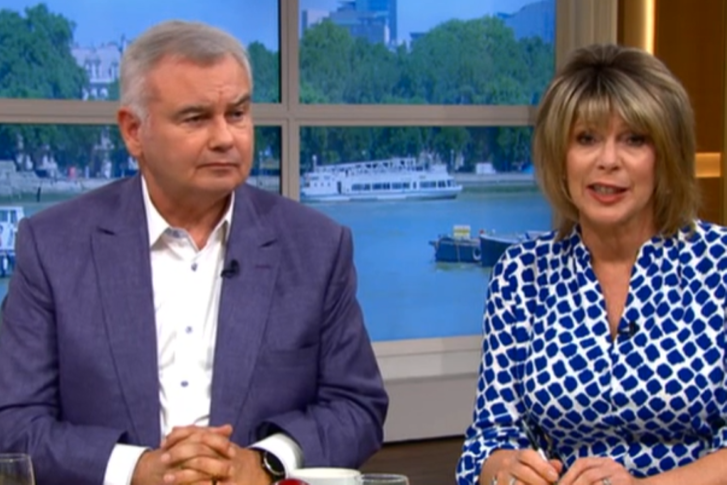 Eamonn Holmes Ruth Langsford ITV This Morning