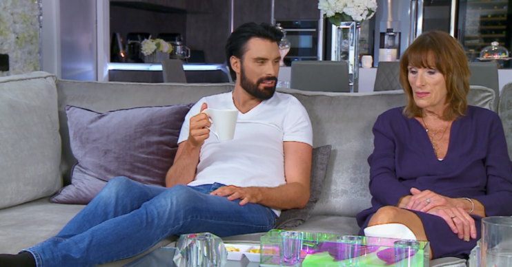 Rylan and mum Linda on Celebrity Gogglebox