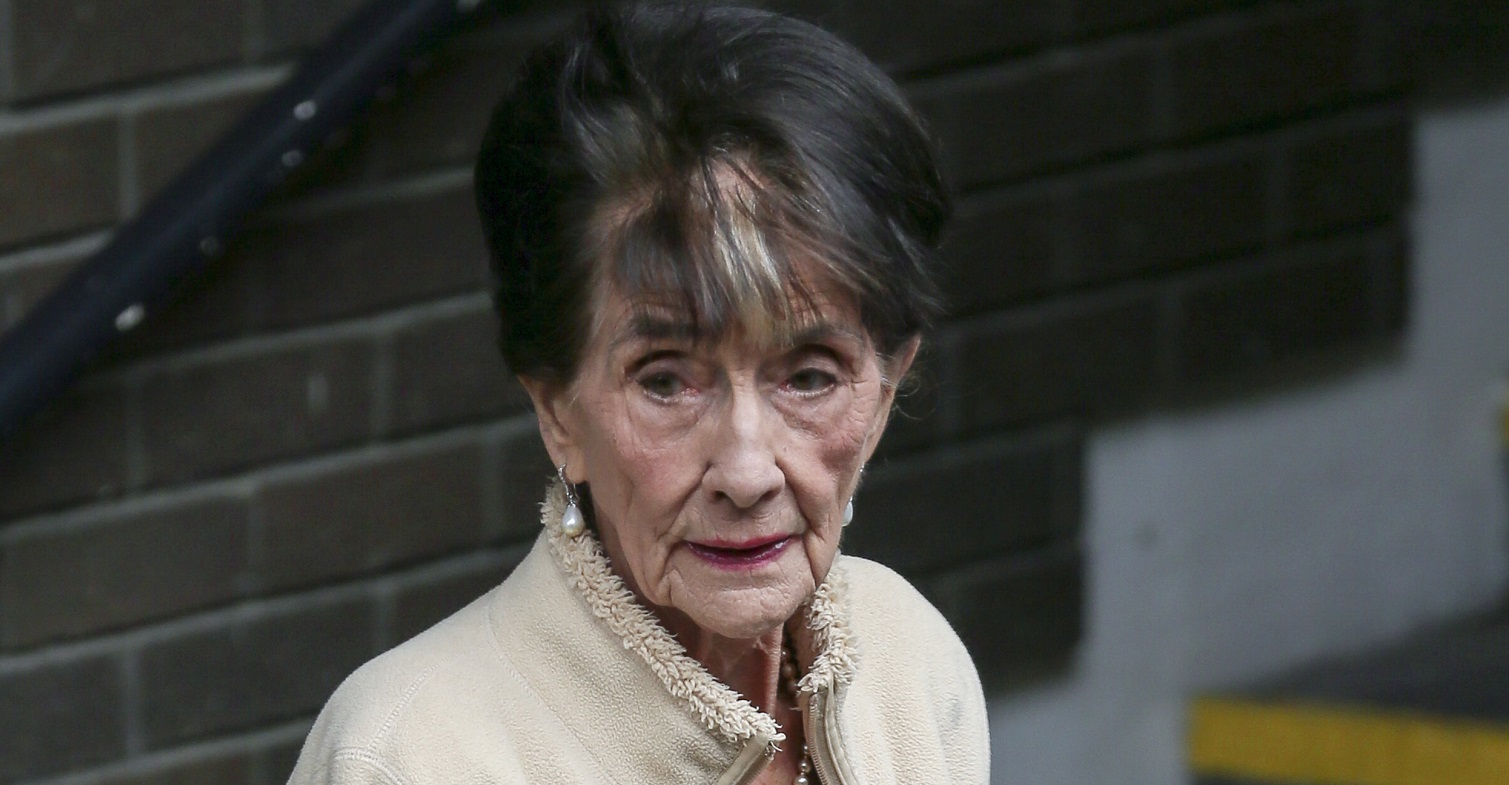 June Brown doesn't watch EastEnders anymore because she can't see the television