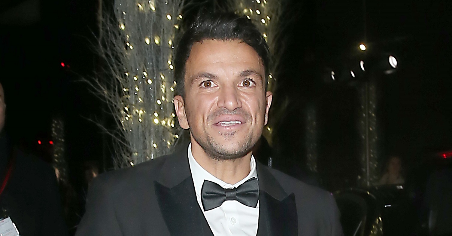 Peter Andre says he's still haunted by an embarrassing reference to his 'small parts'