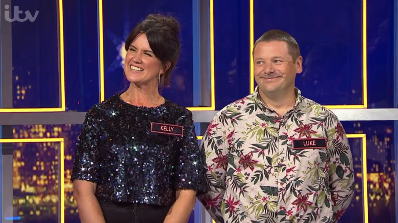 Kelly on Alan Carr's Epic Game Show