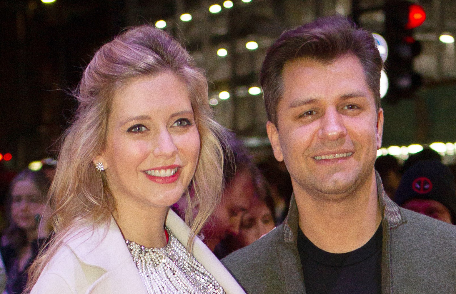 Rachel Riley shares family photo to mark wedding anniversary with husband Pasha Kovalev