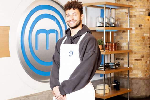 Myles Stephenson Celebrity MasterChef (Credit: BBC)