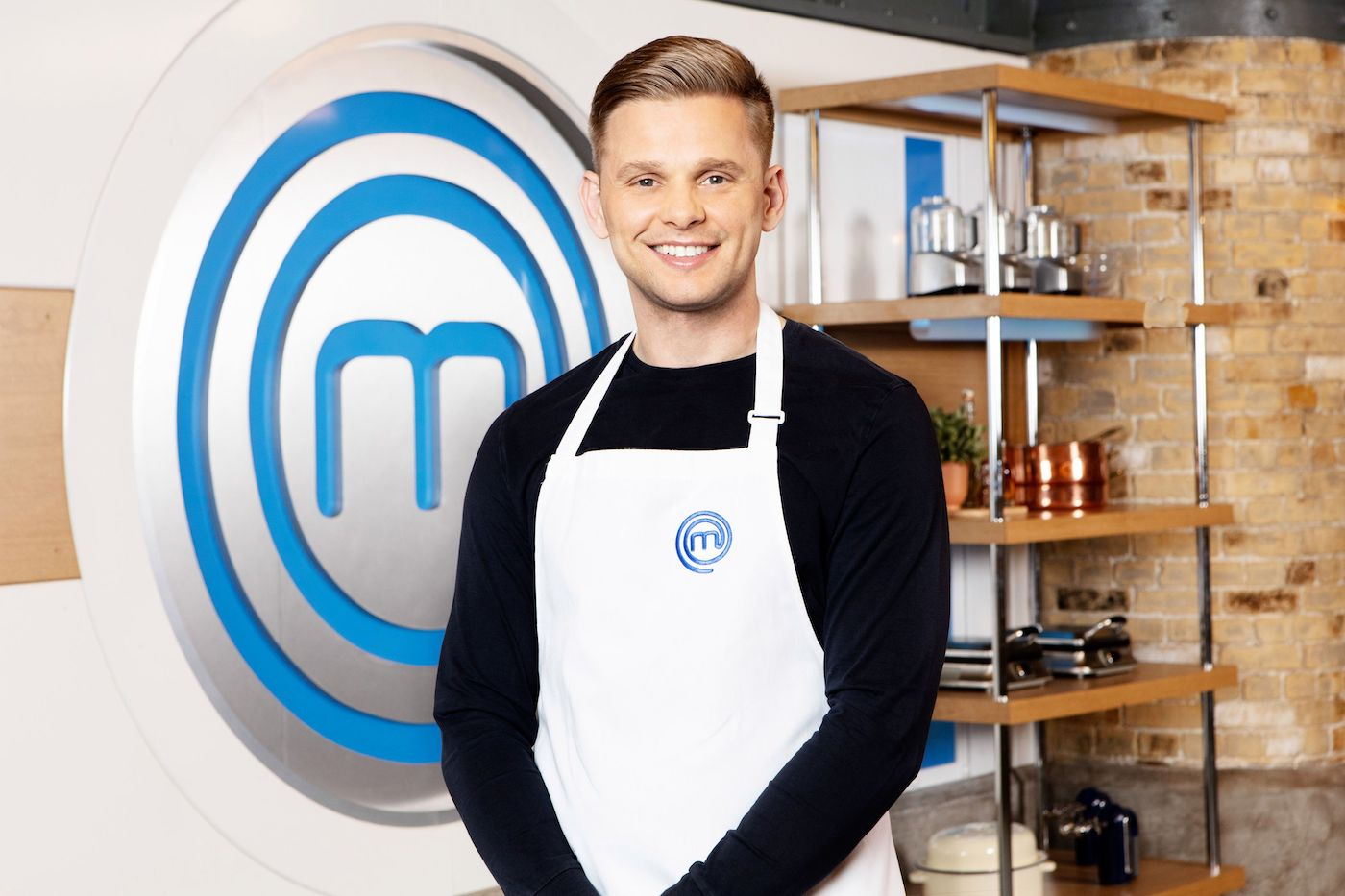 Jeff Brazier Celebrity MasterChef (Credit: BBC)
