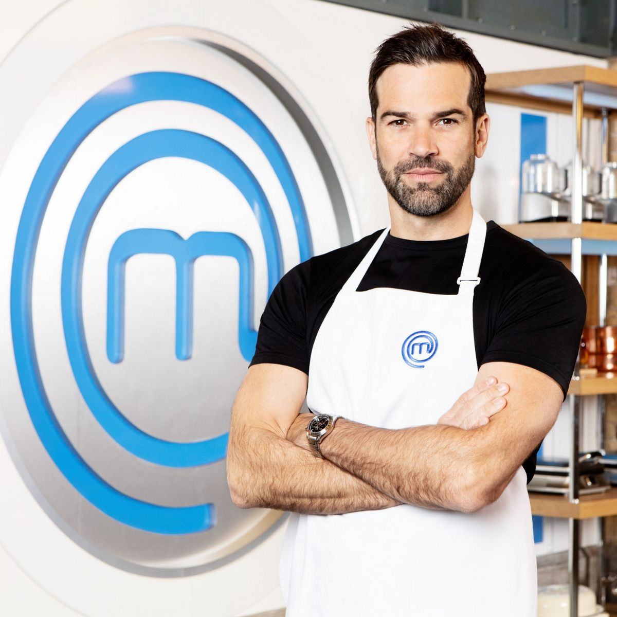 Gethin Jones Celebrity MasterChef (Credit: BBC)