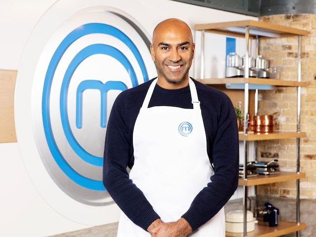 Amar Latif Celebrity MasterChef (Credit: BBC)