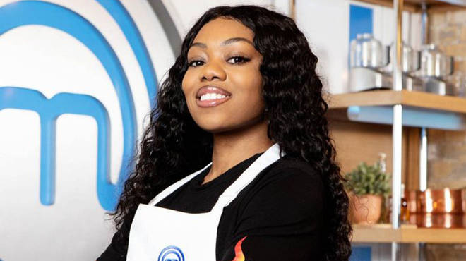 Lady Leshurr Celebrity Masterchef (Credit: BBC)