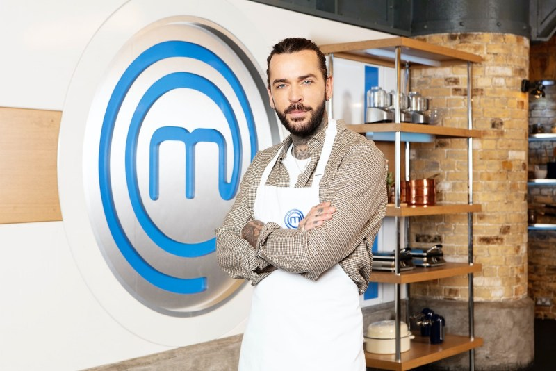 Pete Wicks Celebrity Masterchef (Credit: BBC)