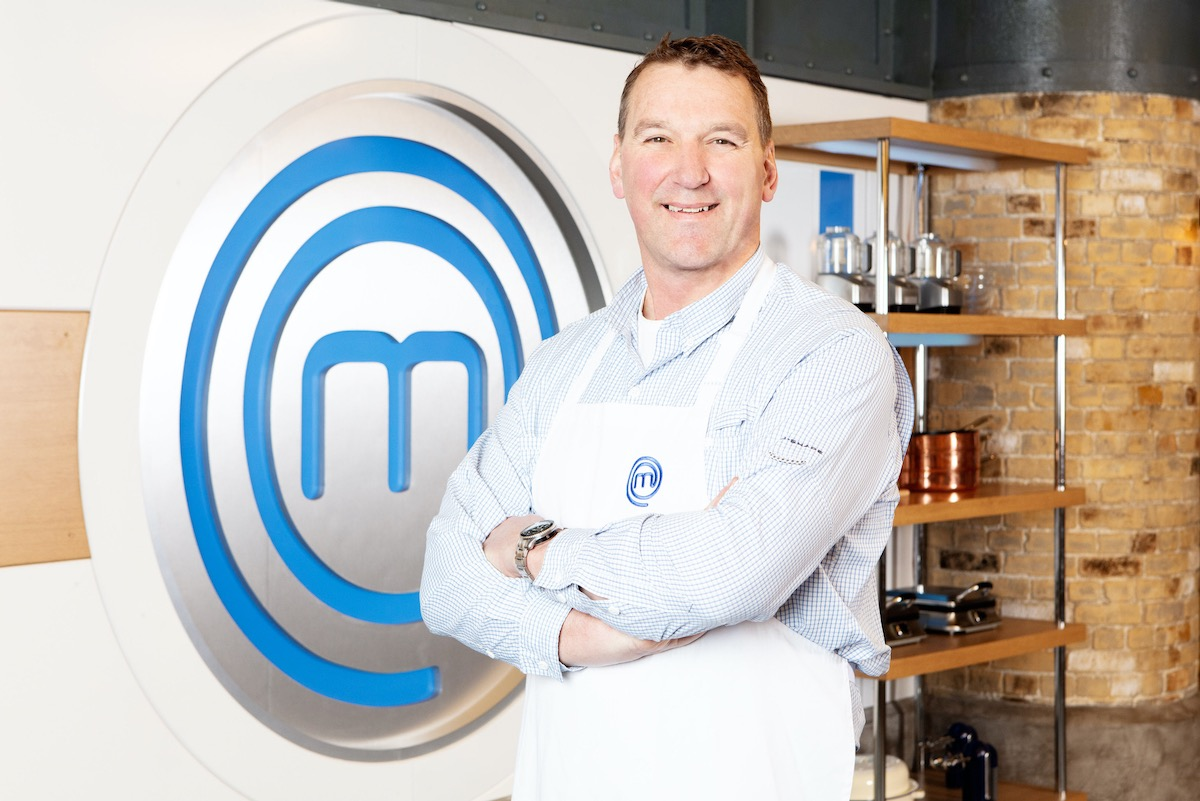 Sir Matthew Pinsen Celebrity Masterchef (Credit: BBC)