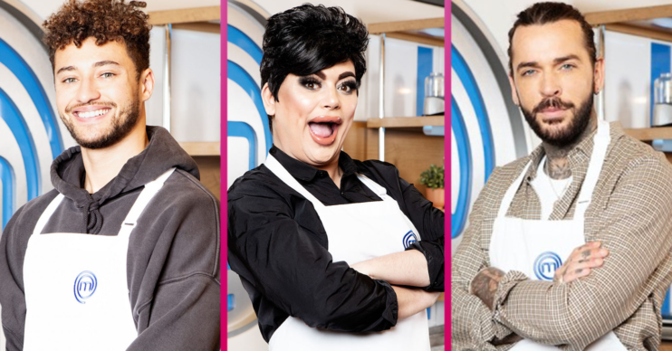 Who is on Celebrity MasterChef?