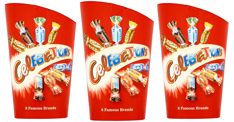 B&M is selling Celebrations featuring new mini Milky Way Crispy Rolls