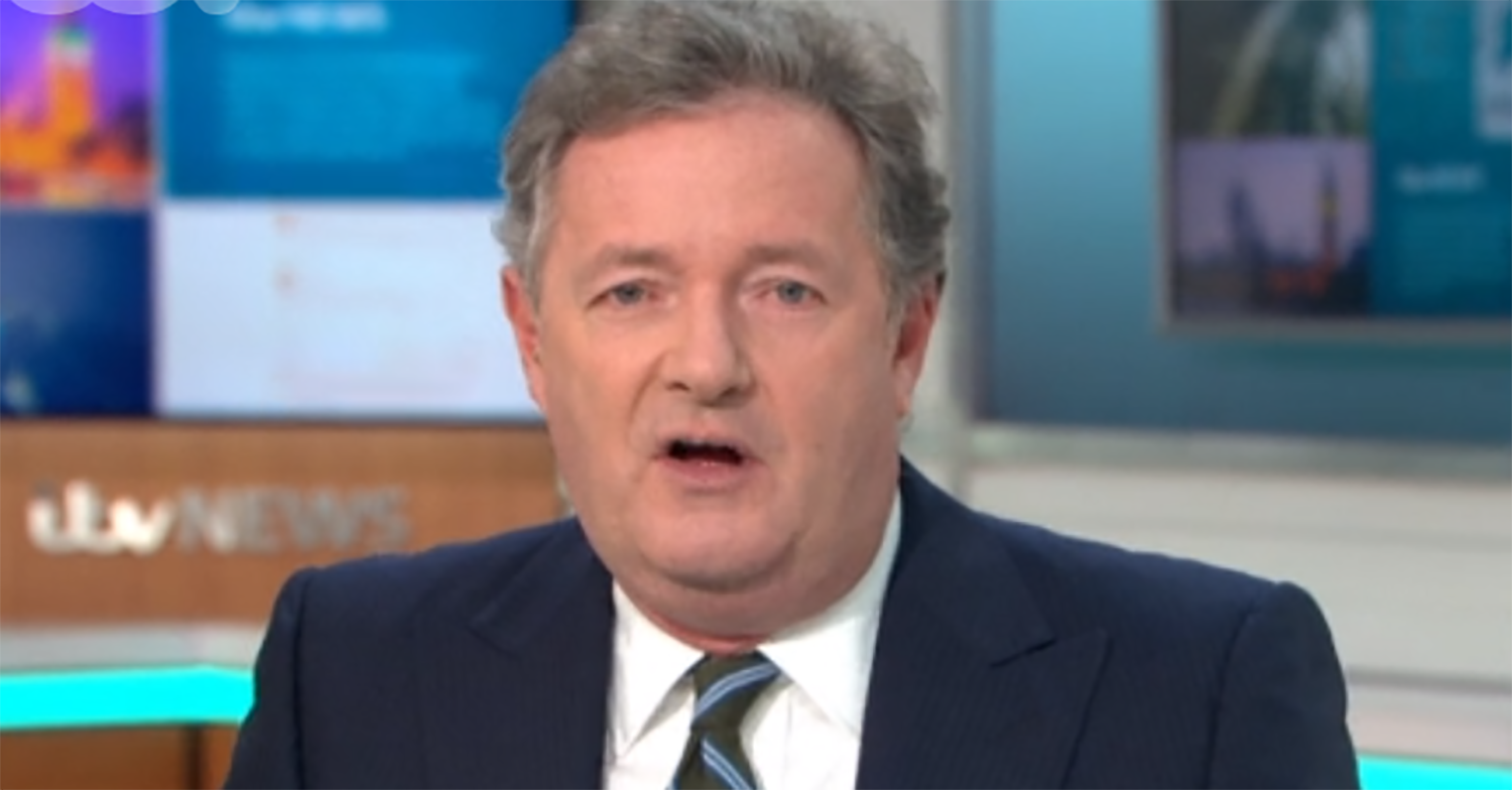 Piers Morgan struggled to breathe and could 'barely talk' as illness left him bedridden
