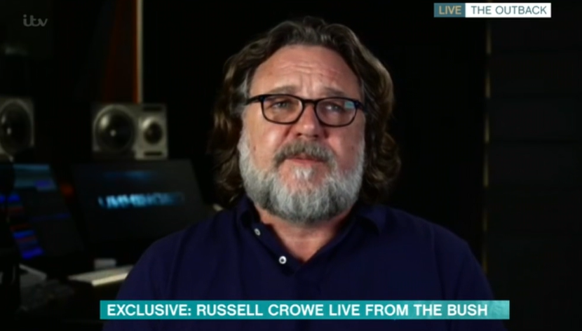 Russell Crowe This Morning ITV