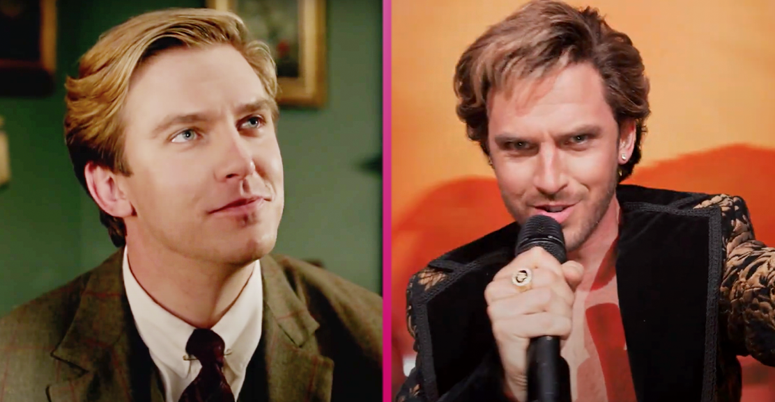 Downton Abbey's Dan Stevens unrecognisable in Eurovision: The Story of Fire Saga transformation