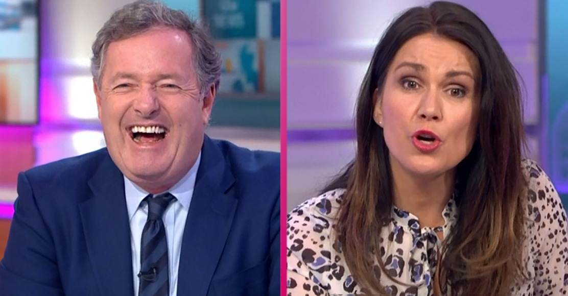 "Piers Morgan urges Susanna Reid to go topless: ""We could become the most famous show in the world!"""
