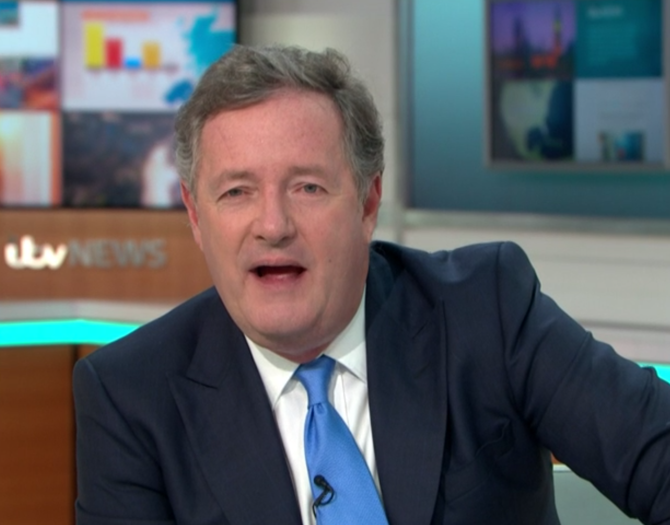 Piers Morgan GMB fat shamed