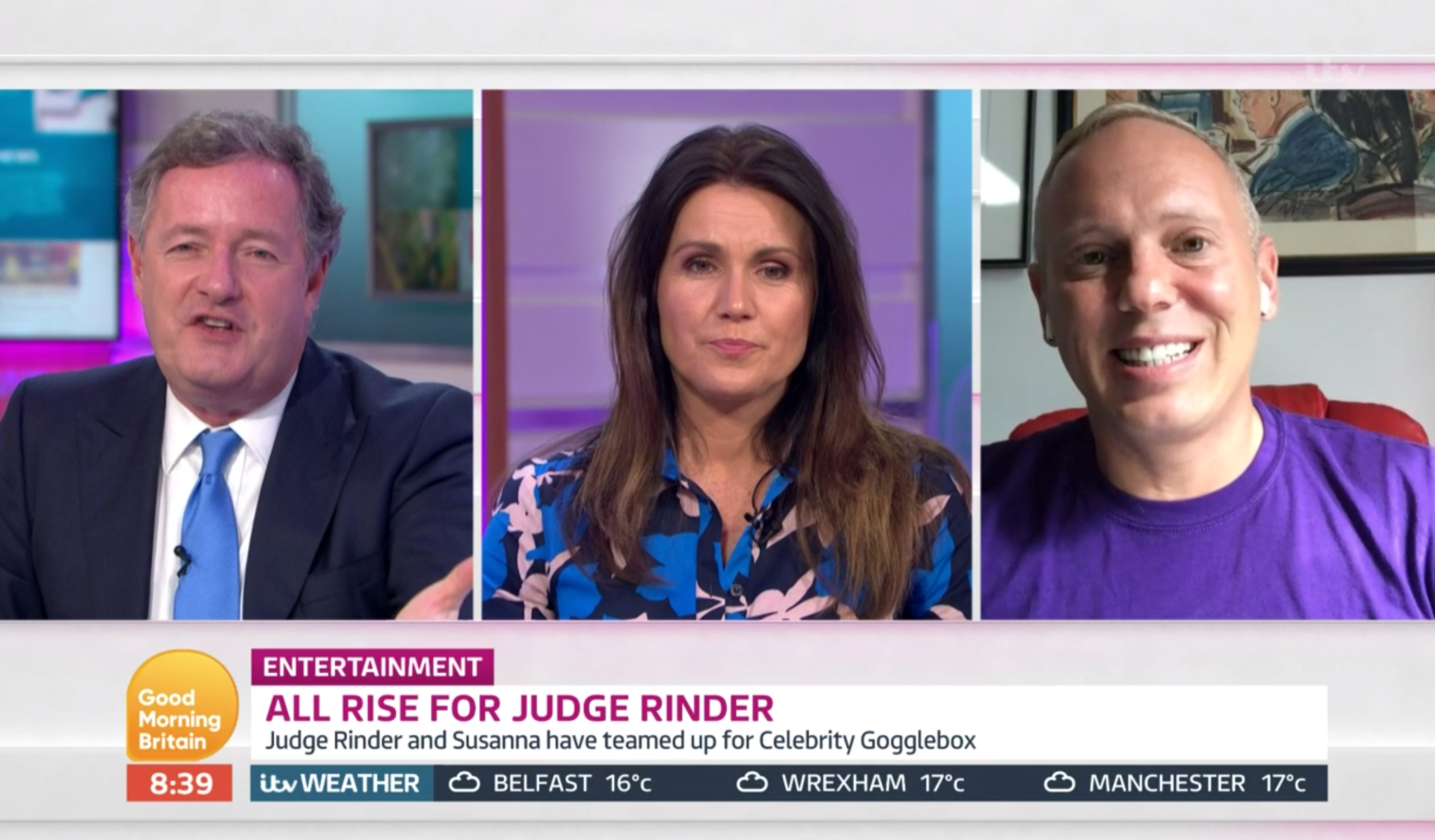 Judge Rinder GMB