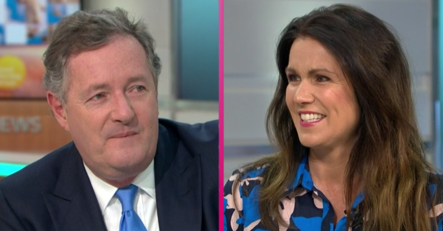 Susanna Reid confirms her new co-host as Piers Morgan is replaced