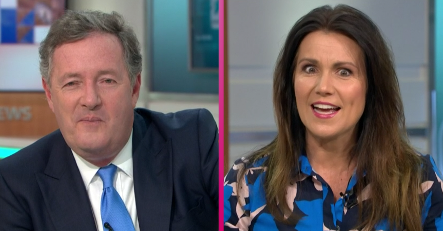Piers Morgan's X-rated bedroom secret makes GMB team recoil in horror