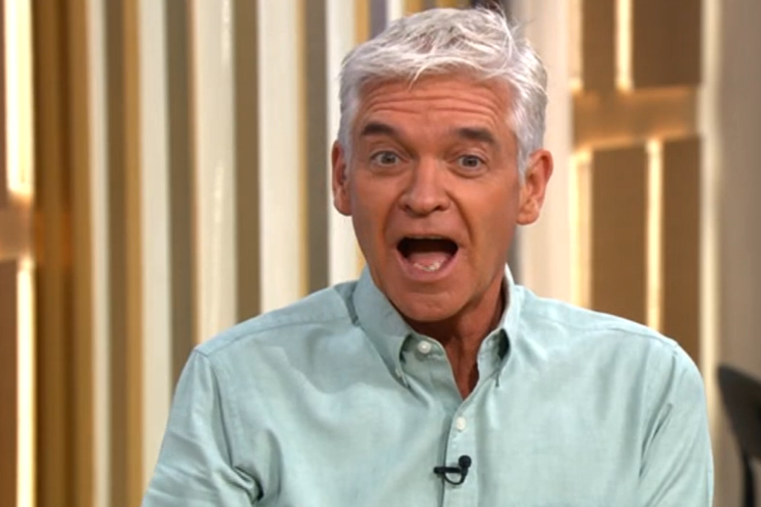 Phillip Schofield and Holly Willoughby get giggles during serious This Morning segment
