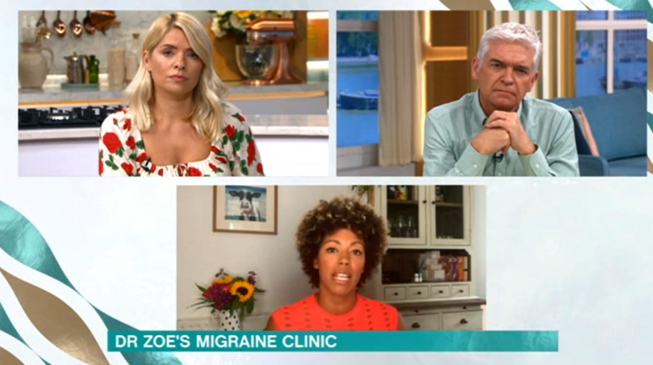This Morning Holly Phil Dr Zoe Credit: ITV