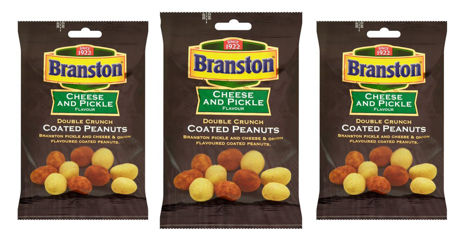 Branston Cheese and Pickle PEANUTS exist and they're on sale now!