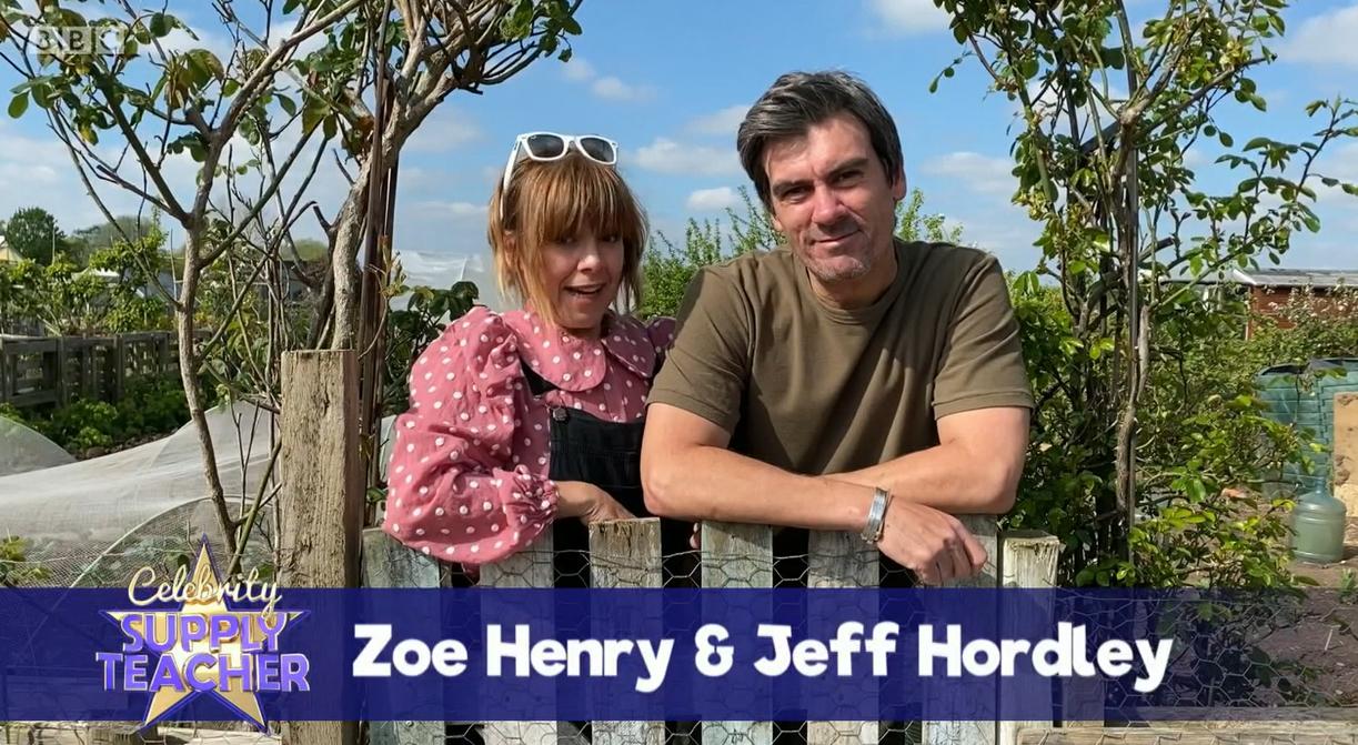Emmerdale Zoe Henry Jeff Hordley Celebrity Supply teacher BBC
