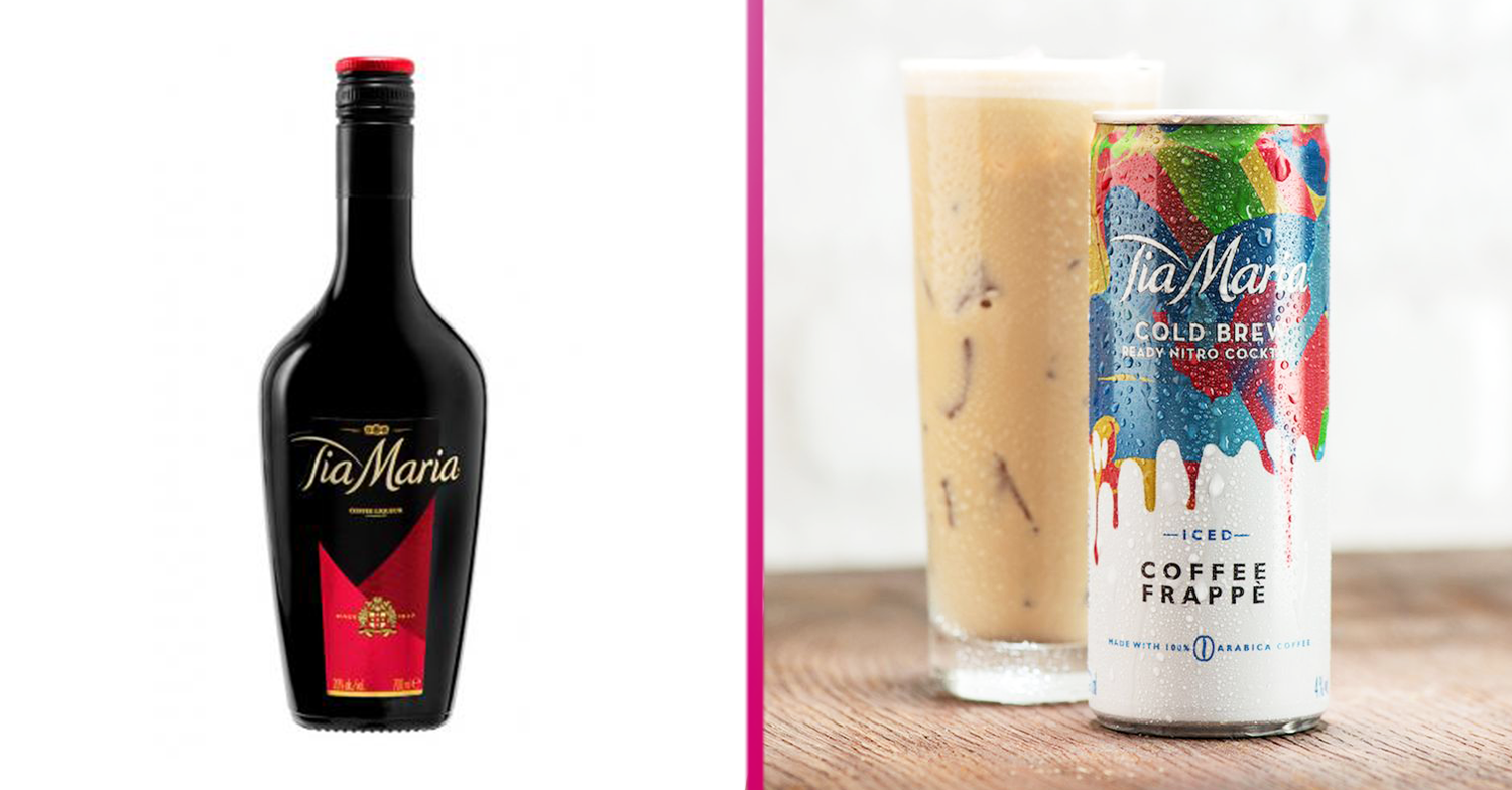 Tia Maria launches Iced Coffee Frappe cocktail in a can at Sainsbury's