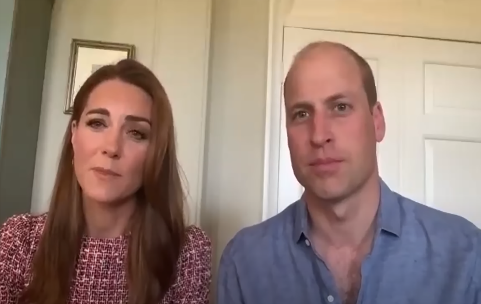 Fans praise Kate and William's 'hard work' as they video call hospital workers to mark special occasion