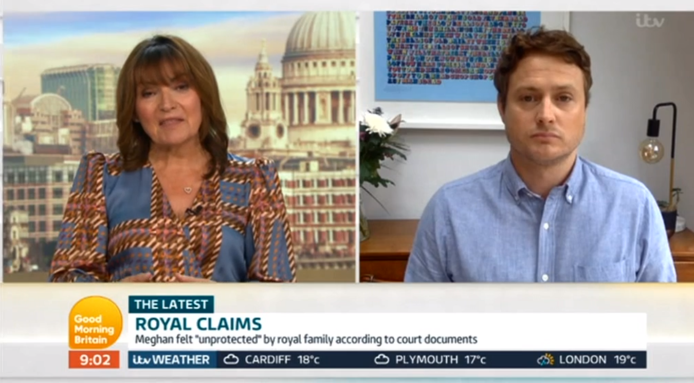 Good Morning Britain Lorraine ITV