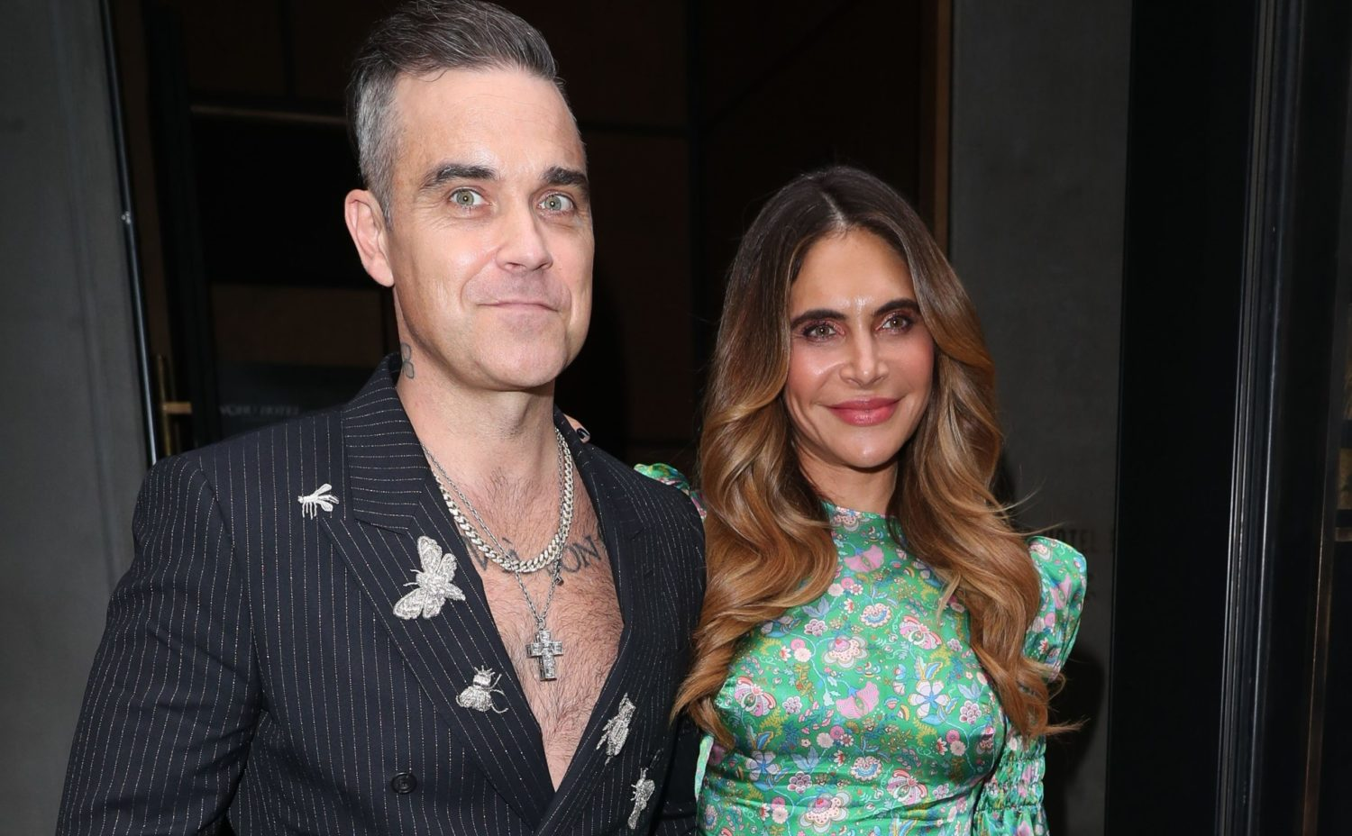 Robbie Williams and Ayda Field open up about threat of beheading