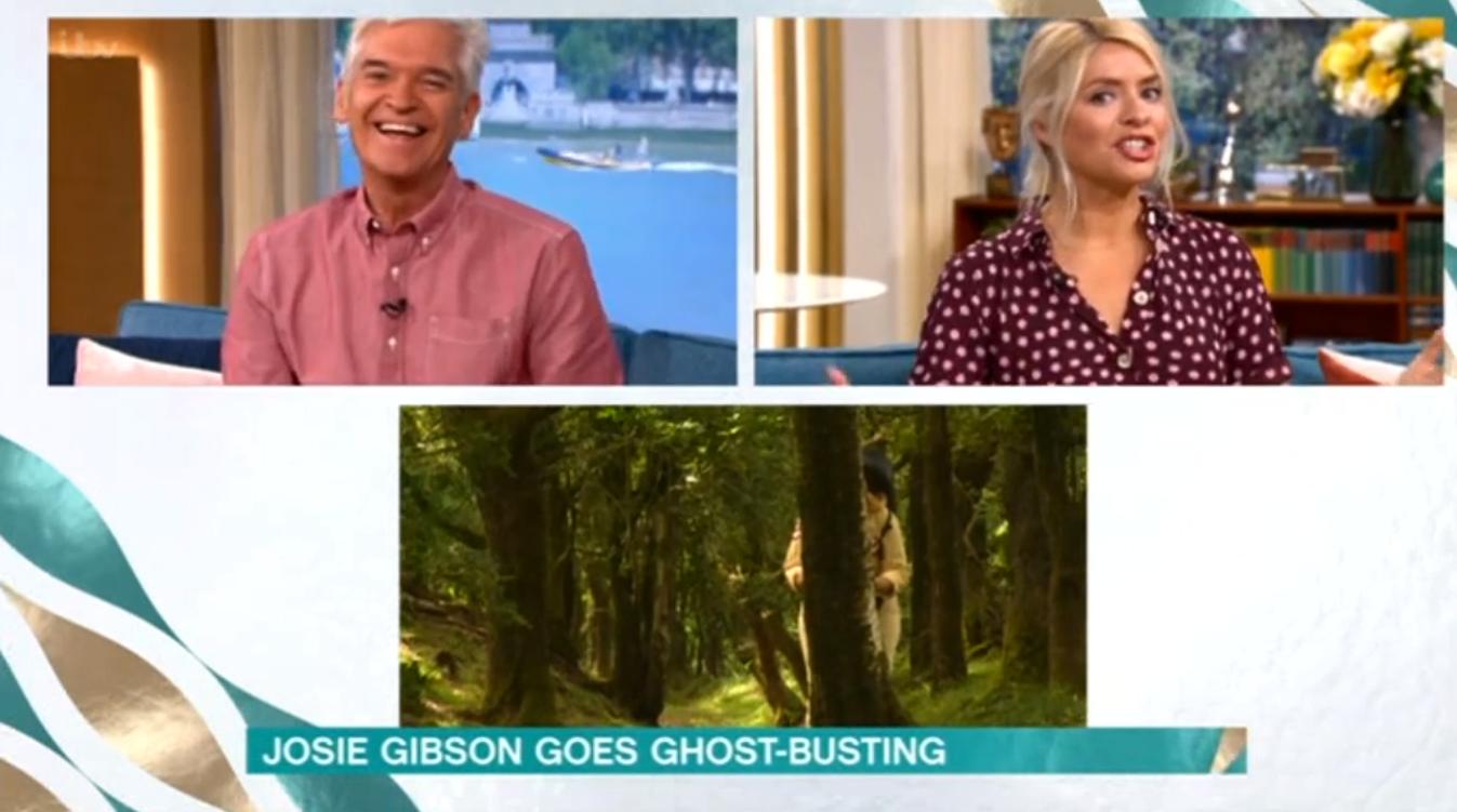 Josie Gibson This Morning ITV