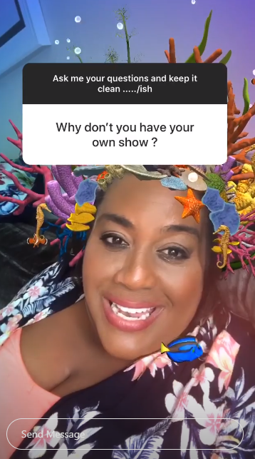 Alison Hammond on insta