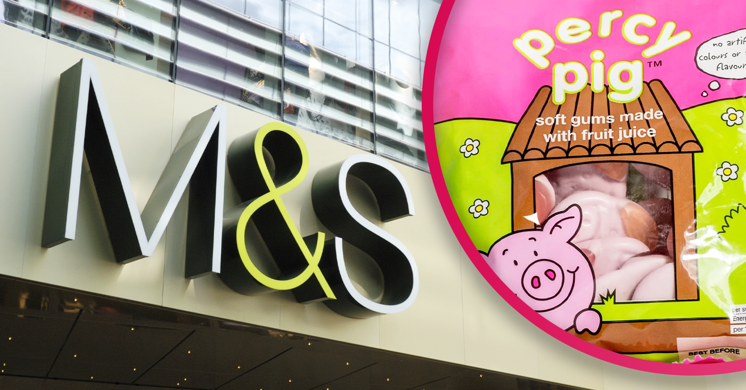 Shoppers can win free Percy Pigs as M&S revamps its Sparks card loyalty scheme