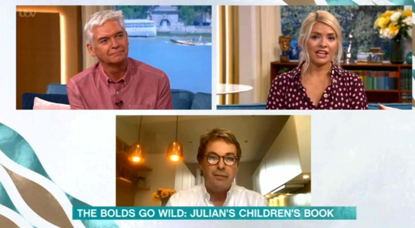 Julian Clary This Morning ITV