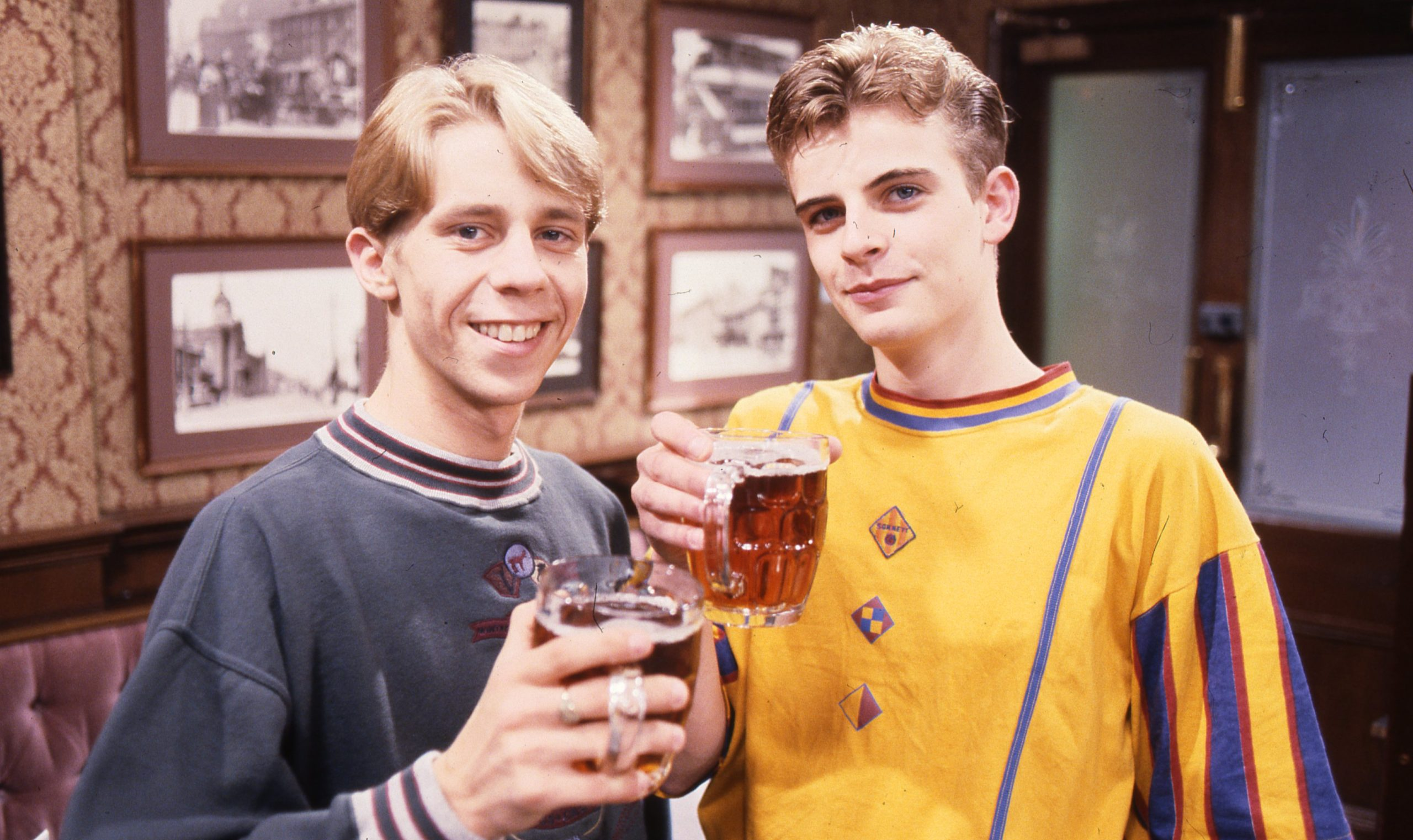 Andy and Steve McDonald Nick Cochrane Coronation Street Credit: ITV/Shutterstock