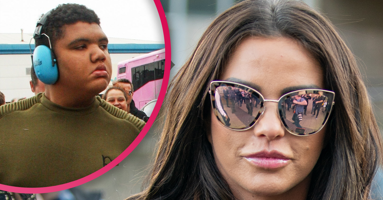 Katie Price reveals she was 'terrified' son Harvey was having heart attack when he became ill