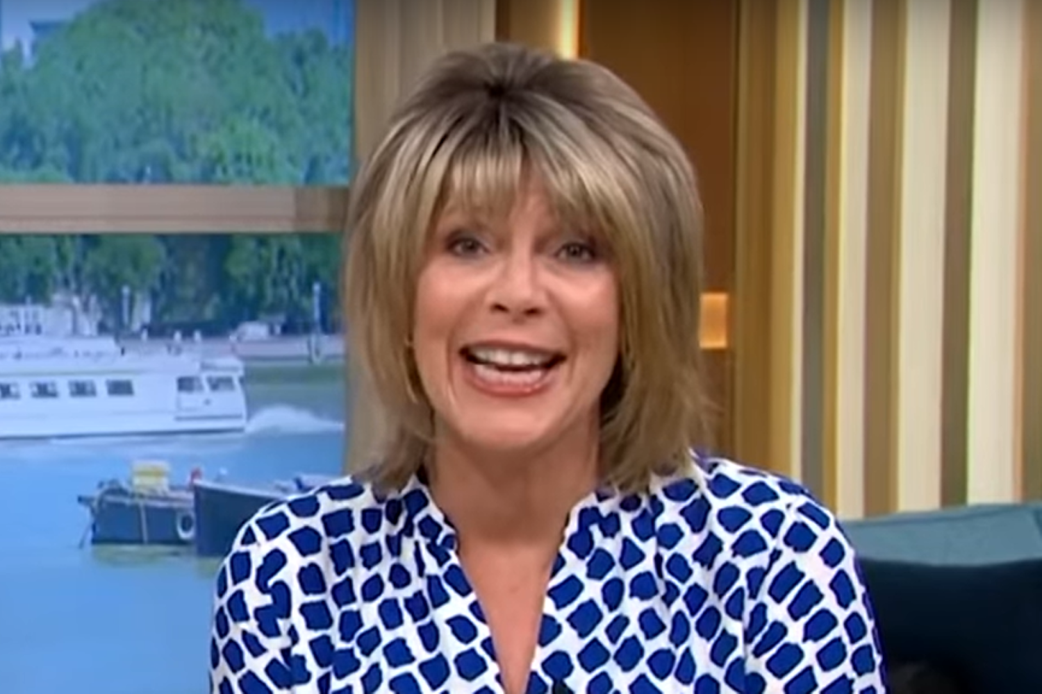 Ruth Langsford shares her joy as she gets hair done on 'Super Saturday'