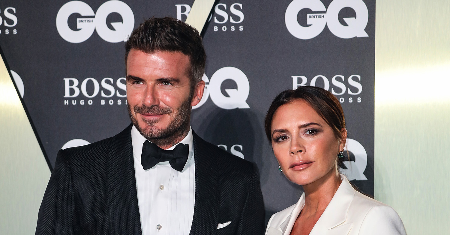 Fans call Victoria and David Beckham 'couple goals' as David shares anniversary video