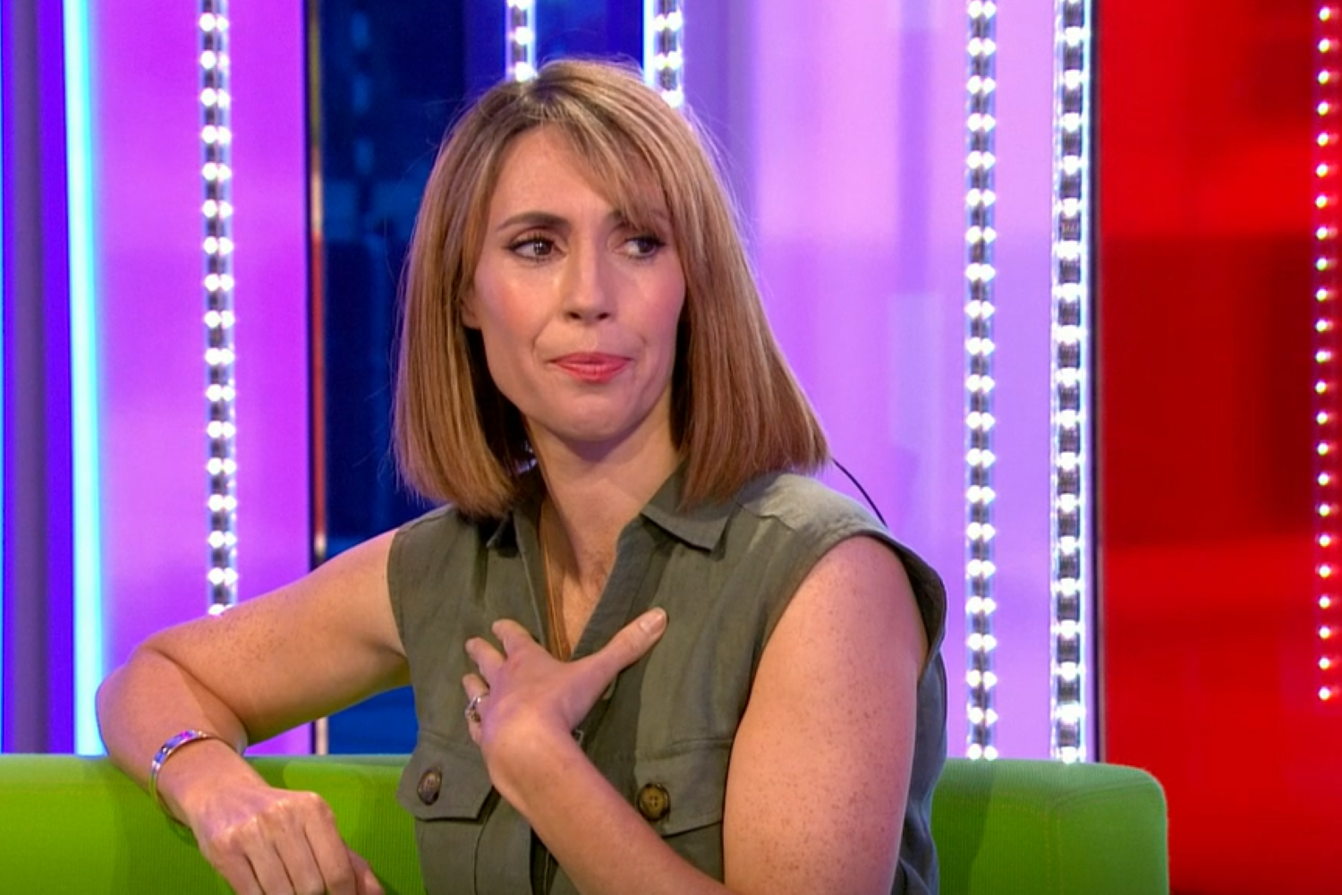 The One Show host Alex Jones breaks down in tears and fans pay tribute