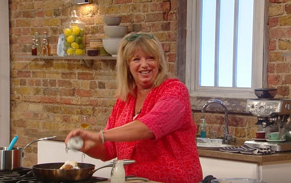 Jane Baxter Saturday Kitchen Credit: BBC