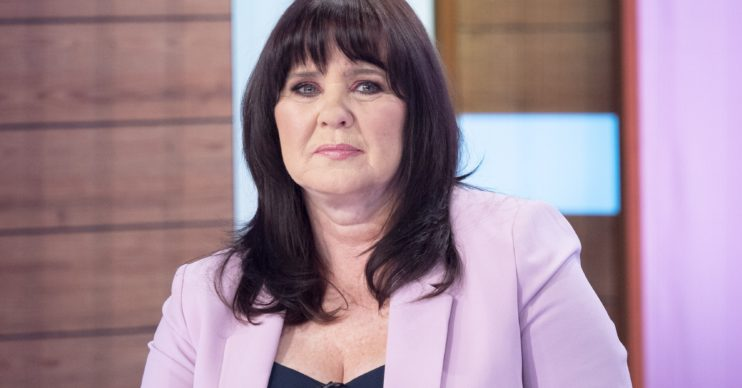 Editorial use only Mandatory Credit: Photo by S Meddle/ITV/Shutterstock (10565760d) Coleen Nolan 'Loose Women' TV show, London, UK - 24 Feb 2020