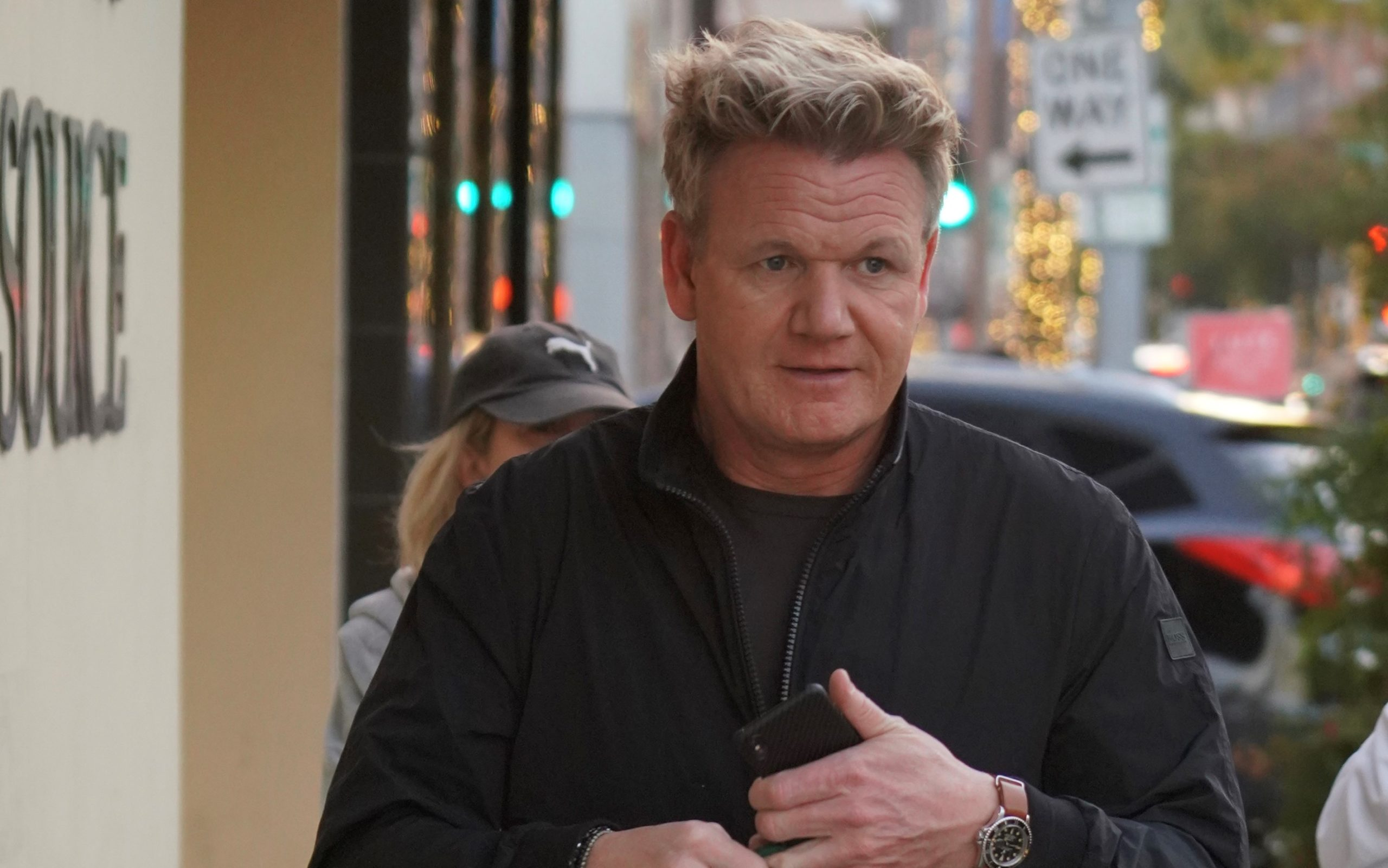 Gordon Ramsay takes lookalike son Oscar to work
