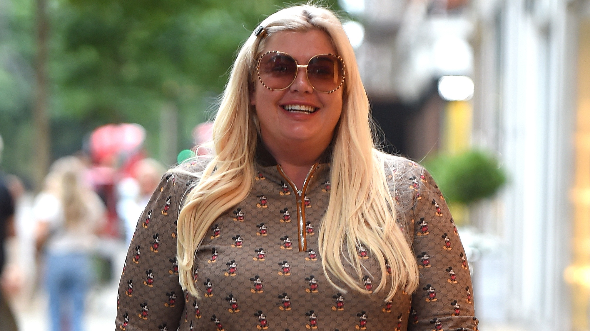 Gemma Collins has to walk off hangover after pubs and restaurants reopen