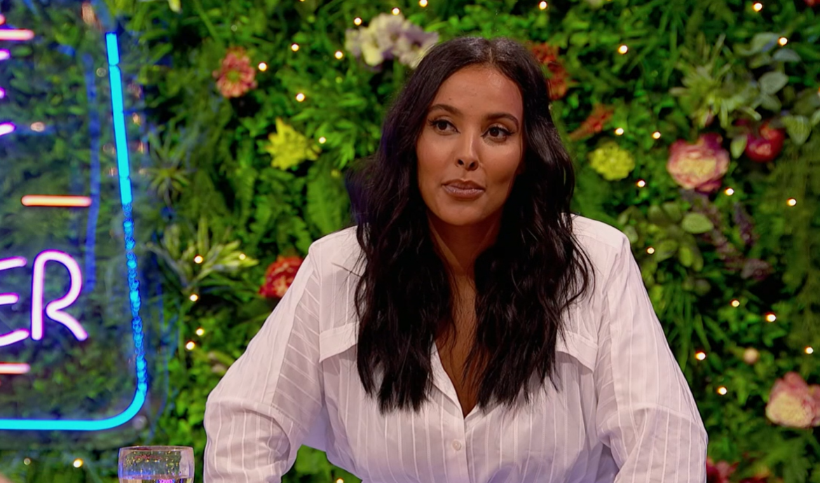 Maya Jama on Peter Crouch: Save Our Summer Credit: BBC