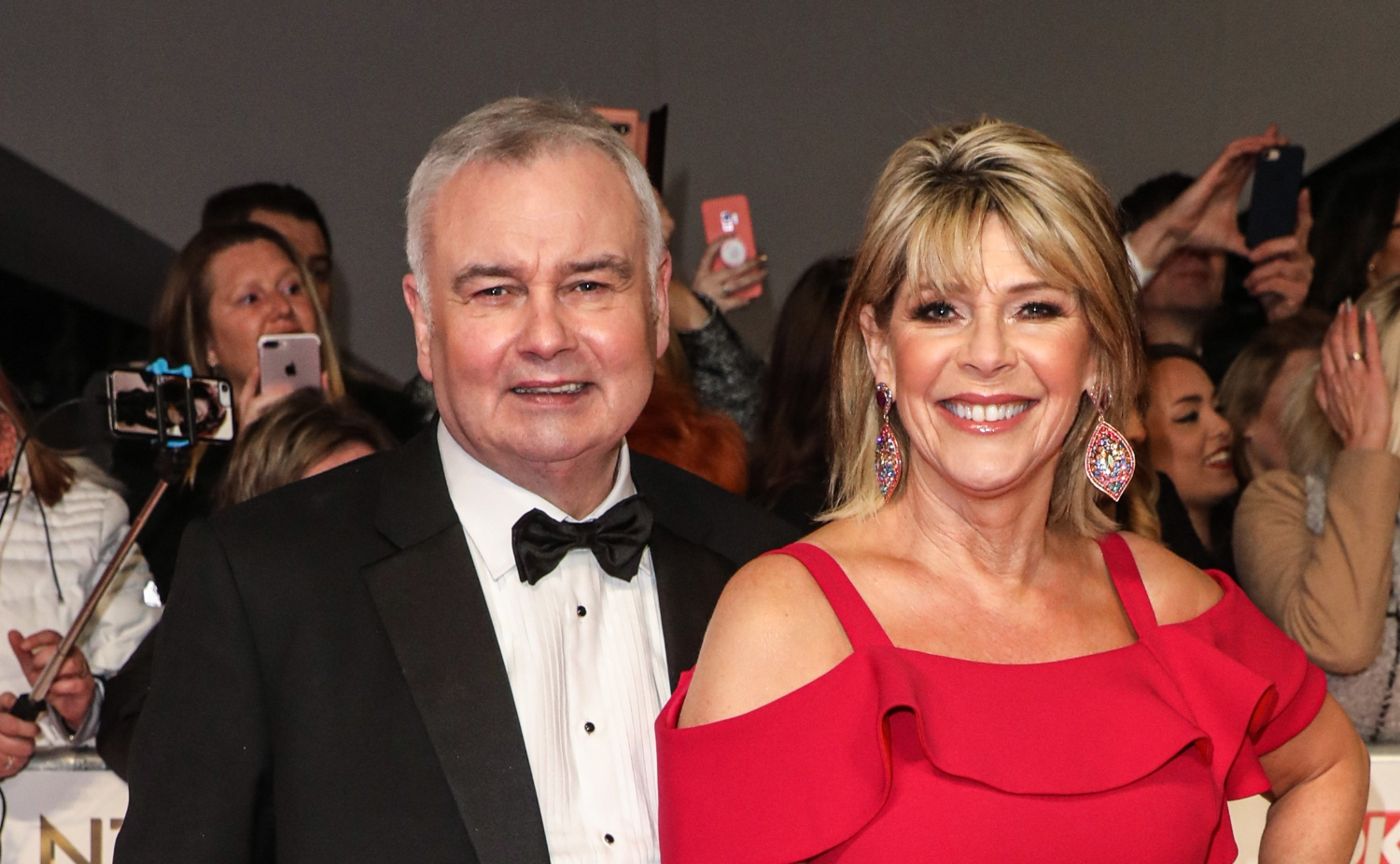 Ruth Langsford shows off Super Saturday hair cut on dog walk