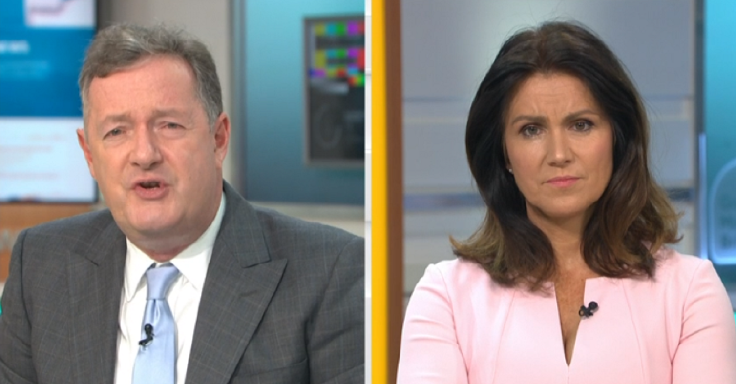 Good Morning Britain's Piers Morgan apologises for Lucy Powell error