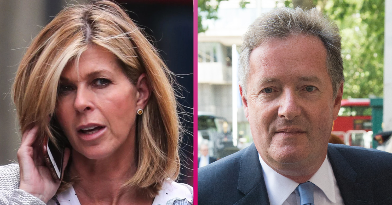 Piers Morgan issues update on Kate Garraway and husband Derek on GMB
